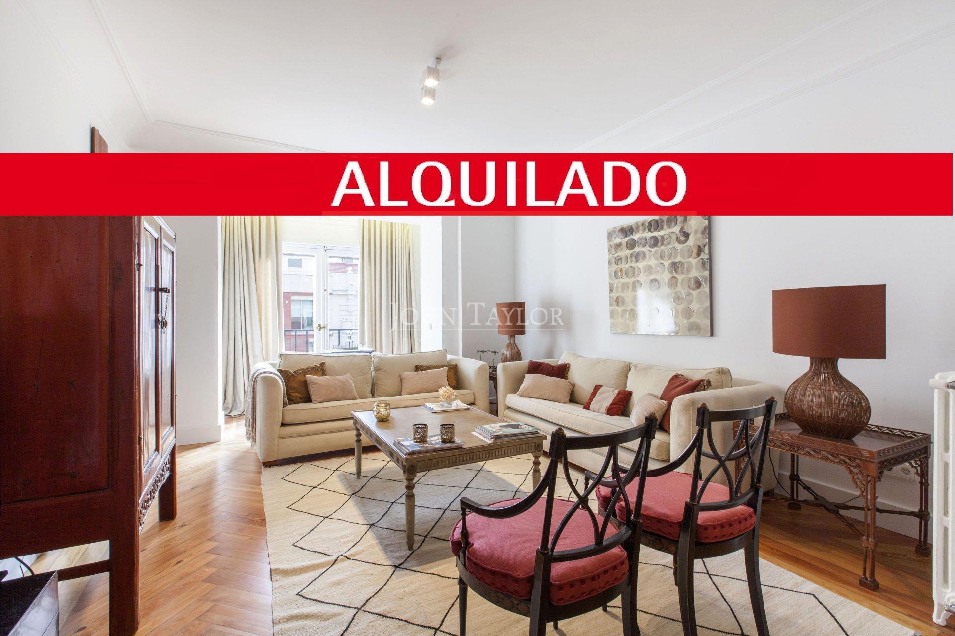 Anuncio alquiler piso madrid goya 28001 120 m john for Piso madrid alquiler
