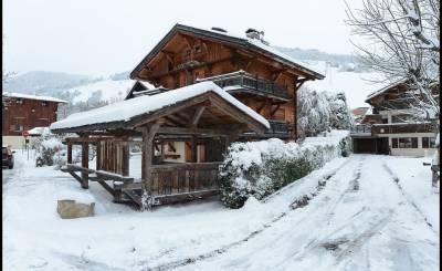 Alquiler por temporada Chalet Megève