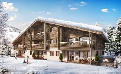 Nueva construcción Piso Megève